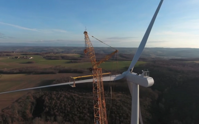 WIND FARM TERRES BLANCHES (FRANCE) – VESTAS